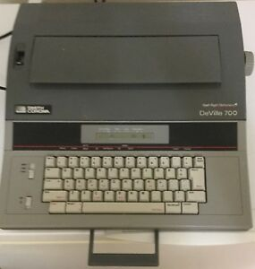 Smith Corona Deville 700 Portable Electric Typewriter Spell Right