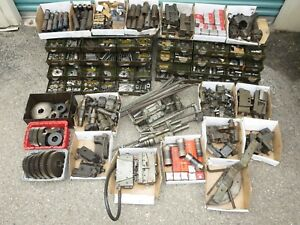 Huge Lot Of Warner Swasey Machine Parts 1200 Lbs Wide Assortment