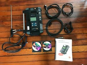 Testo 350m xl Flue Gas Analyzer Box W control Unit Probe Case And More