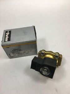 Parker Gold Ring Solenoid Complete Valve 12f23o2148a3fph80 3 4 Npt 3 4 Orifice