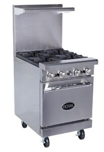 Royal Rr 4 24 Gas Range 30 000 Btu Burner