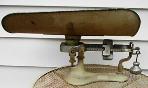 Vintage Cast Iron Detecto Lette Junior Baby Scale