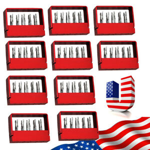 U 10boxes Dental Tungsten Steel Drills Burs For High Speed Handpiece Fg 1957 Sbt
