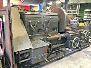30 Monarch Engine Lathe Working Reduced