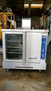 Imperial Icvg 1 Turbo flow Single Deck Gas Convection Oven 70 000btu