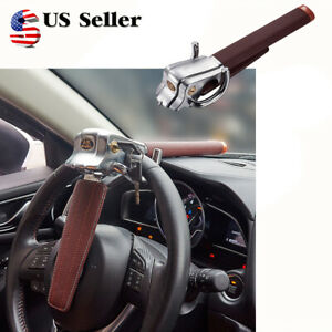 Auto Car Steering Wheel Locking Clamp Anti Theft Top Mount Airbag Secure Hammer