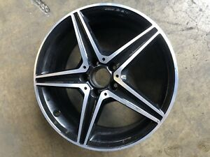 Mercedes C Class C43 C450 2016 17 18 Rim Wheel Factory Oem Front Amg 2054014800