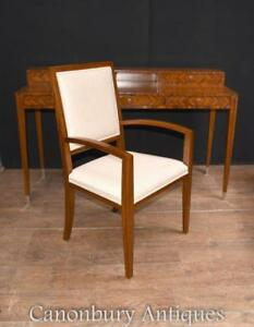 Art Deco Desk And Chair Set Rosewood Home Office Writing Table