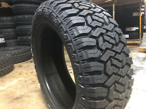 6 New 35x12 50r17 Fury Off Road Country Hunter R T Tires Mud A T 35 12 50 17 R17