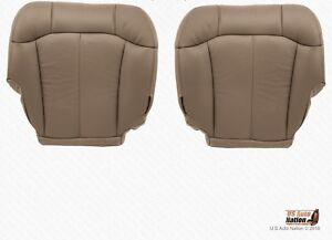 1999 2000 Chevy Silverado 1500 2500 Drivr Passenger Bottom Vinyl Cover Med Tan