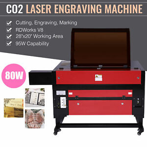 80w 700x500mm Usb Port Co2 Laser Engraving Machine Engraver Cutter