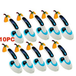 10pcs 10w Led Dental Curing Light Lamp 2000mw Wireless teeth Whitening Usa Ship