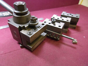 Armstrong 4 X 4 Qbc Lathe Tool Post With 4 Holders Loc6148
