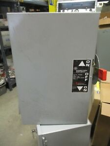 Getc35323 100 Amp 240 Volt Double Throw Switch New Ats294