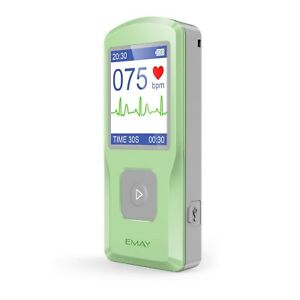 Emay Portable Ecg ekg Monitor pc Software Compatible With Both Windows Mac