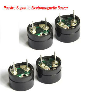 12x8 5mm 16 Passive Separate Electromagnetic Buzzer For Mainboard Alarm 3v