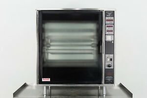 Used Henny Penny Scr 8 32 bird Electric Rotisserie Oven