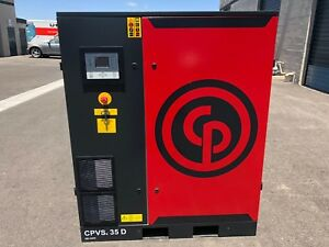 Chicago Pneumatic Slightly Used Cpvsd 35 Hp Variable Speed Drive Compressor