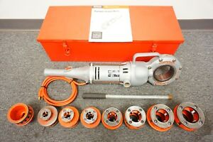 Ridgid 700 Handheld Power Drive Pipe Threader With Die Set Pony Rigid 300 774