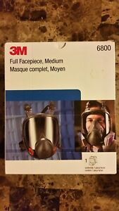 Authentic 3m Full Face Medium Respirator 6800 Bundle Kit