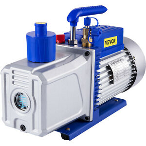Refrigerant Vacuum Pump 12cfm 1hp Deep Hvac Dual Stage Ac Conditioning