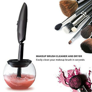 Automatic Makeup Brush Cleaner Device Electronic Cleaning Machine Dryer Tool New
