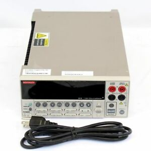 Keithley 2410 used Sourcemeter Smu Instrument 1100v 1a 20w