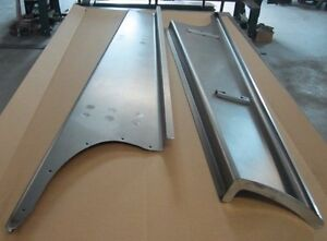 New 1941 Chevy gmc Truck 1 2 Ton Smooth Steel 16g Running Boards Hot Rod Street