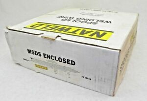 New Natweld Aluminum Mig Welding Wire Alloy 5356 3 64 13 Lbs Aws A5 10 88 Vt