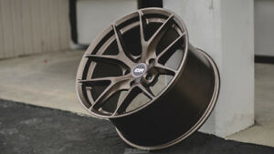 Esr Rf2 19x9 5 19x10 5 22 5x120 Matte Bronze Rotory Forged Staggered Set Of 4