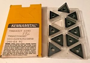 Kennametal Ceramic Inserts Tnga432t K090 Qty 10 New