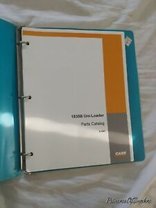 Case 1835b Skid Loader Parts Book