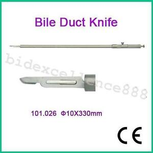 Ce Fda Bile Duct Knife 10x330mm Laparoscopy Ce Approved Operating Tool Sale