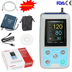 Fda Contec Abpm50 Ambulatory Blood Pressure Monitor Upper Arm Nibp oximeter us