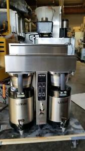 Fetco Cbs 2042s Dual Coffee Extractor Series Brewer 3 Luxus L3s 10 Dispenser