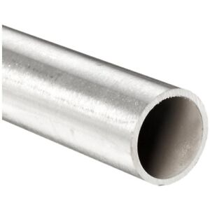 304 Alloy Stainless Steel Round Tubing 2 Diameter X 188 Wall X 38 Long