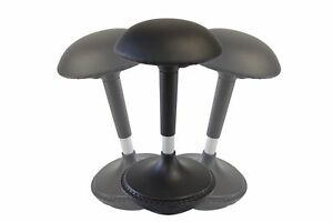Wobble Stool Adjustable Height Active Sitting Balance Chair For Office St New
