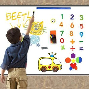 Dry Erase Magnetic Wall Whiteboard For Kids Writing And Drawing At Home c New