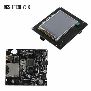 Kit Ramps V1 4 Full Color Board Mks Tft28 Touch Screen Lcd Controller