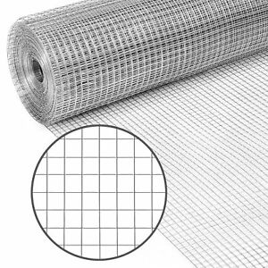 Best Choice Products 3x50ft Multipurpose Galvanized Mesh Wire 1 2in Netting G