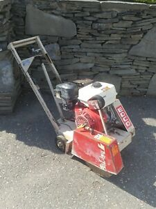 Edco Gas 14 Inch Concrete Walk Behind Saw With Blade