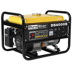 Durostar Ds4000s Gas Powered 4000 Watt Portable Rv Ready 7 0 hp Power Generator