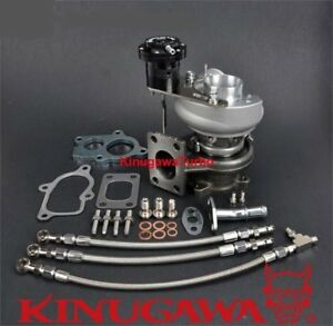 Kinugawa Billet Turbo Td4h 15g 6cm T25 Flange 250hp For Mazda Mx 5 Mk2 Miata 1 6