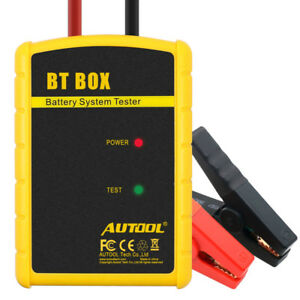 Autool Bt Box Bt box Car Battery Tester Support Android ios Battery Analyzer