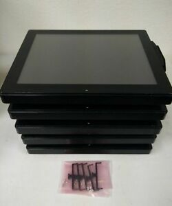 Lot Of 5 Touch Panelpc Penetek A3115 21 All In One 15 Pos System 2gb Ram No Hdd