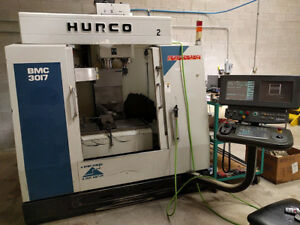 Used Hurco Cnc Vertical Machining Center Mill Machine 30x18 Ct40 Ultimex 1998