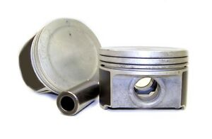 Single Piston With Ring Fits Chrysler Dodge Intrepid Concorde 3 5 L Sohc 99 04
