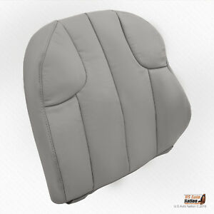 2001 Jeep Grand Cherokee Laredo front Driver Top Replacement Gray Leather Cover