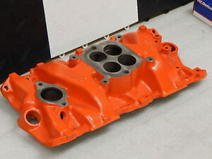 Restored Original 327 1963 Corvette Afb 300hp Intake Manifold Dated