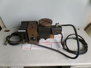 Haas T5c 4th 5th Axis Rotary Table 17 Pin Brush Type Or Use It As Trt160 Arpi